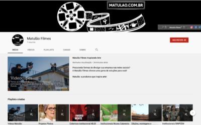 Canal da Matulão no Youtube