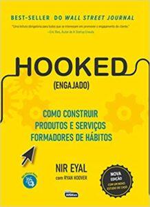 Cap do livro HOOKED (ENGAJADO)- Como construir produtos e serviços formadores de hábitos