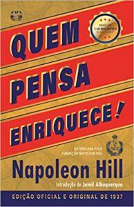 Capa do livro Quem pensa enriquece- Edição oficial e original de 1937